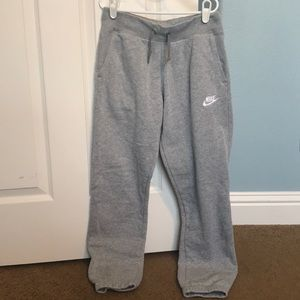 NIKE Kids Grey Sweatpants